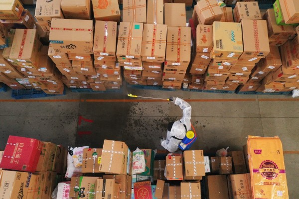 Despite ongoing trade tensions and the global economic softening caused by the pandemic, China's B2B trade continues to defy these barriers. Photo: Xinhua