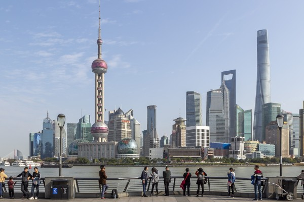 The survey revealed optimism about China's business environment after a tough year. Photo: Xinhua