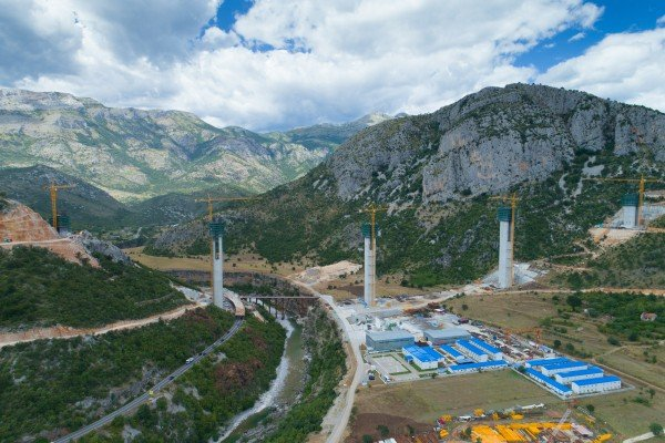 China's embassy in Montenegro says the high cost of the Bar-Boljare motorway is a reflection of the engineering challenges involved. Photo: Shutterstock