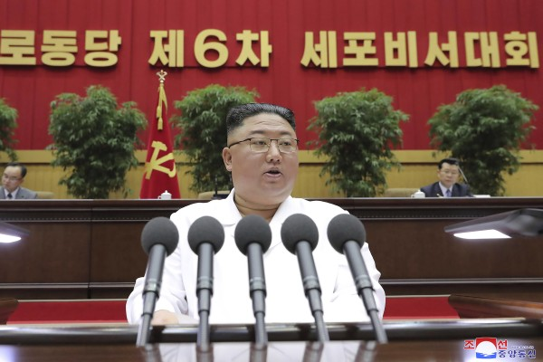 North Korean leader Kim Jong-un. Photo: AP