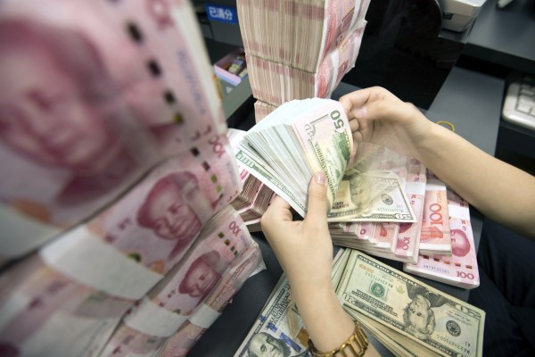 China's foreign direct investment inflows – excluding financial sectors such as banking, securities and insurance – surged 43.8 per cent during the January-March period, year on year. Photo: EPA-EFE