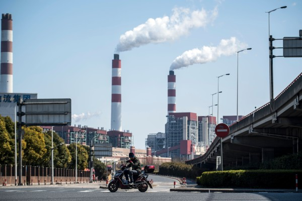 China has set a goal to be carbon neutral by 2060. Photo: AFP