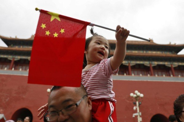 China's central bank has recommended the country's birth controls  be scrapped in a new report. Photo: EPA-EFE