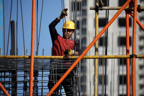The growth of new home prices in China's biggest cities slowed amid tighter regulation. Photo: Reuters