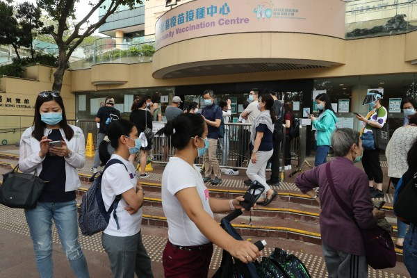 Some Hongkongers who do not get vaccinated against the coronavirus face losing their jobs. Photo: Edmond So