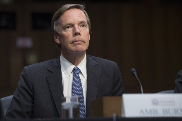 Nicholas Burns was undersecretary of state under George W Bush. Photo: AFP