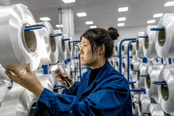 China's economy grew by 18.3 per cent in the first quarter of 2021. Photo: AFP