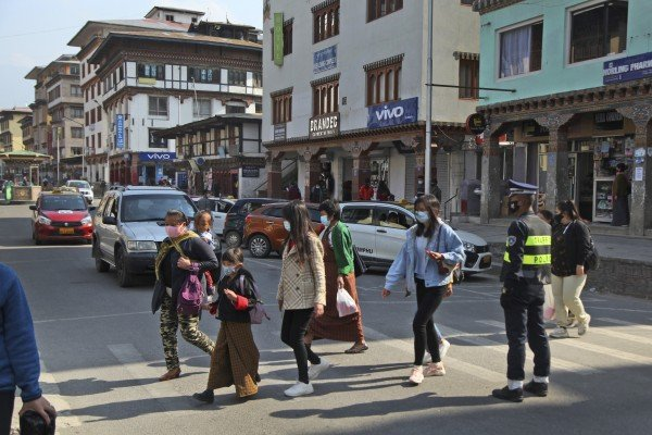 Chinese foreign vice-minister Kong Xuanyou visited Thimphu, the capital of Bhutan, in 2018. Photo: AP