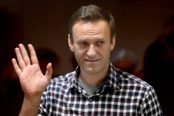 Russian opposition leader Alexei Navalny. Photo: AFP