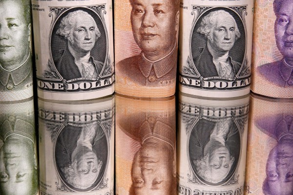 Last week, a senior Bank of Japan official downplayed the potential for China's digital yuan to threaten the US dollar's position as the world's main reserve currency. Photo: Reuters