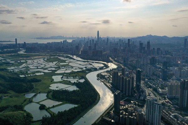 A general view of Shenzhen, China's Silicon Valley and the richest city in southern Guangdong province. Photo: Martin Chan