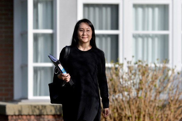 Huawei Technologies executive Meng Wanzhou is pictured in March. Photo: Reuters