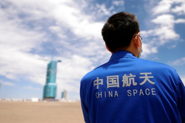 China is expected to launch its first crewed space flight in nearly five years on Thursday. Photo: Reuters