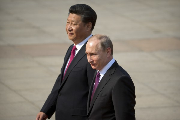 Chinese President Xi Jinping and Russian leader Vladimir Putin are expected to pursue closer ties. Photo: AP