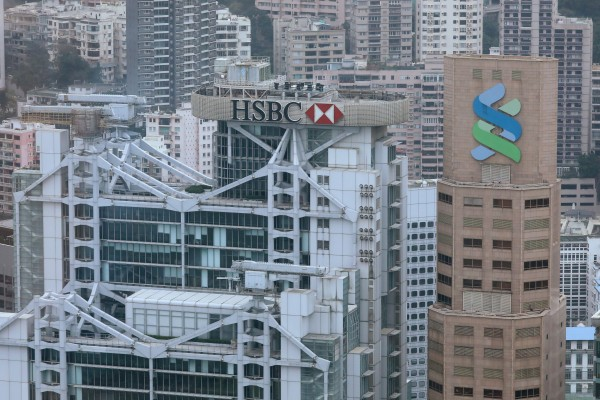 HSBC and Standard Chartered are expanding in a big way in the Greater Bay Area. Photo: Nora Tam