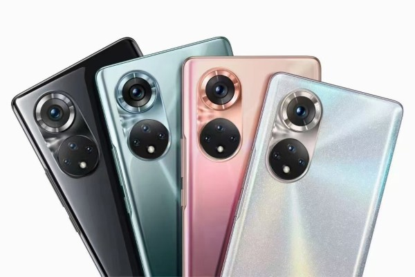 Honor released its latest flagship smartphone line, the Honor 50, on June 16, 2021, in mainland China. These devices continue to run Google's Android operating system. Photo: Handout