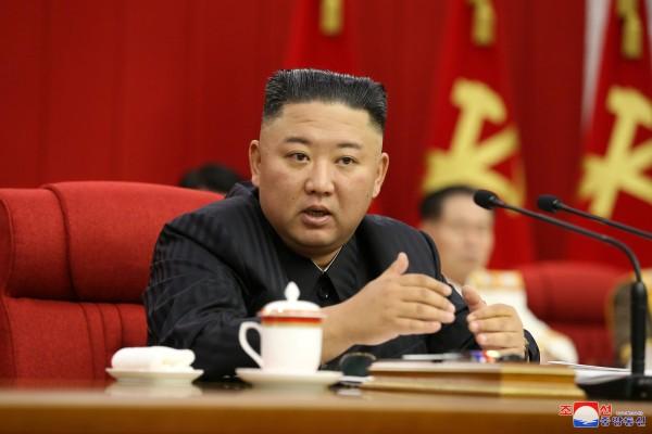 North Korean leader Kim Jong-un in Pyongyang on Tuesday. Photo: Reuters