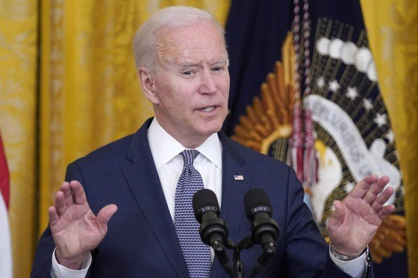 President Joe Biden at the White House in Washington, DC on Thursday after the Supreme Court dismissed a third major challenge to the 'Obamacare,' health law. Photo: AP