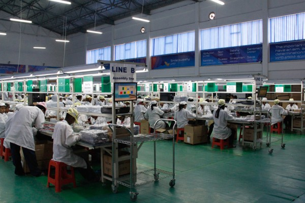 Transsion Holdings, the largest mobile phone supplier in Africa, operates its own handset factory in Ethiopia. Photo: Handout