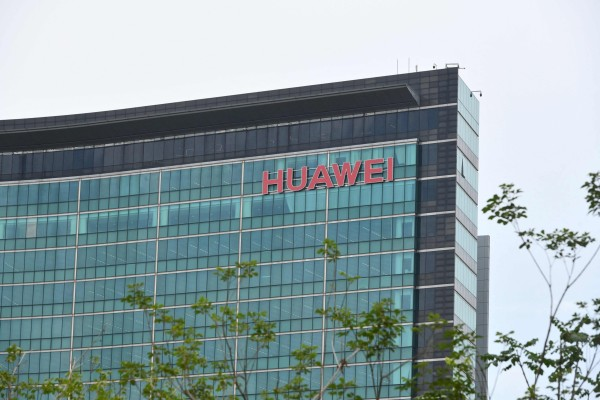 Huawei headquarters in Shenzhen on May 31, 2021. Photo: AFP