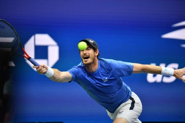Britain's Andy Murray in action at the recent US Open. Hip resurfacing allowed him to return to the professional tennis tour and play without pain. Photo: AFP