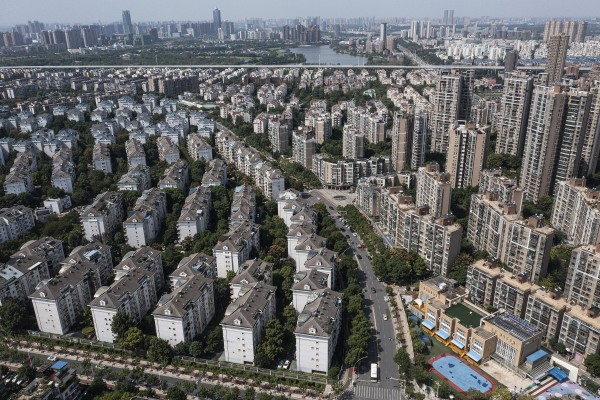 The Evergrande Changqing community, in Wuhan, Hubei province. Photo: Getty Images