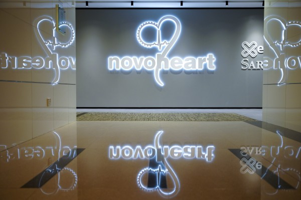 """Novoheart created a first with its artificial """"mini-hearts"""" which can contract and mimic the fluid-pumping action of a natural heart. Photo: Winson Wong"""