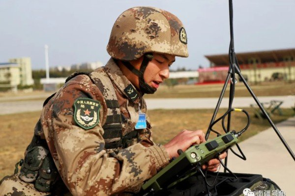 The PLA released images of 75th Group Army troops using drones in exercises in the southwest. Photo: Weibo