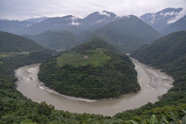 China's plans for a new hydropower plant on the Yarlung Tsangpo River are likely to upset India. Photo: Xinhua