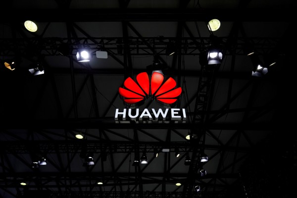 A Huawei Technologies Co. logo is seen at the Mobile World Congress (MWC) in Shanghai in February. Photo: Reuters