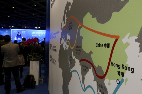 China has funded a series of infrastructure projects under the Belt and Road Initiative. Photo: Reuters