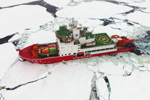 China has developed its own polar icebreakers. Photo: Xinhua