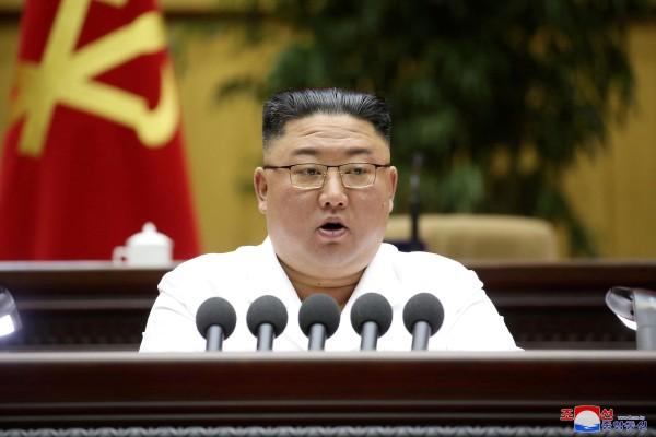 North Korean leader Kim Jong-un. Photo: KCNA/via Reuters