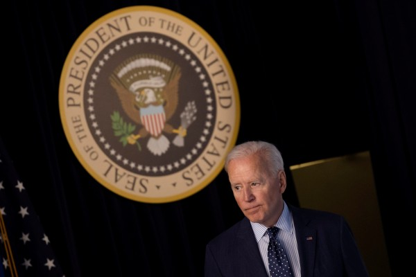US President Joe Biden has issued an order banning investment in companies linked to the Chinese military and repression of minorities and dissidents. Photo: Reuters