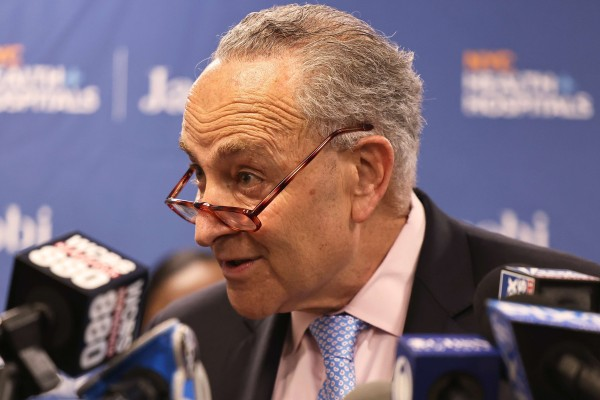 The US Senate's new China legislation includes one area of great interest to Senate Democratic leader Chuck Schumer: the allocation of up to US$80 billion over five years for basic and advanced tech research. Photo: Getty Images via AFP