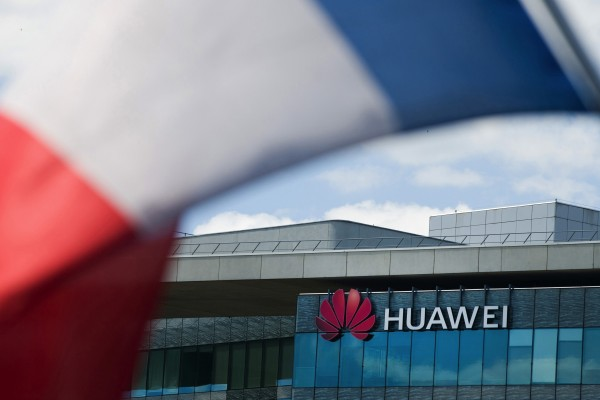 Huawei has plans to build a 5G equipment plant in France. Photo: Bloomberg