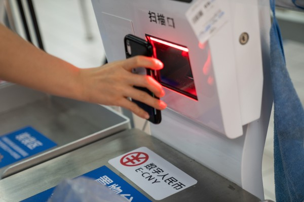 More than 2 billion yuan (US$314 million) has been spent by Chinese consumers using the new digital yuan at shops, restaurants and with a select number of online platforms. Photo: Bloomberg