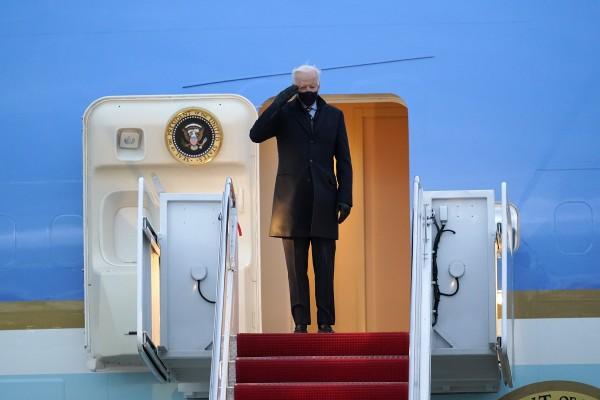 US President Joe Biden will depart Washington on Wednesday. File photo: AP