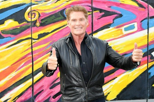 David Hasselhoff appears in a video for the German Health Ministry to encourage citizens to get a coronavirus vaccination.