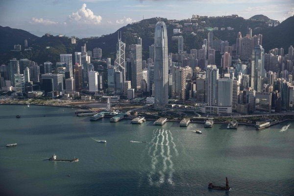 Hong Kong' s Victoria Harbour in September 2020. Photo: AFP