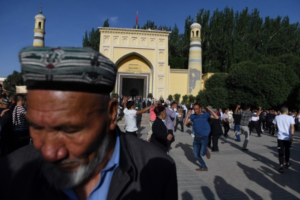 Amid reports of a crackdown, Beijing claims efforts are being made to preserve religious culture in Xinjiang. Photo: AFP