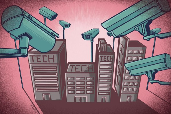 A cybersecurity review of Didi has signalled a new era in data governance in China, where regulators have become concerned about public listings overseas. Illustration: Lau Ka-kuen/SCMP
