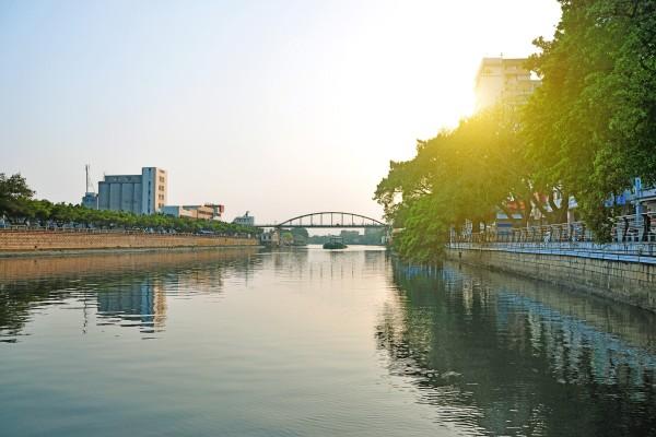 The Jiangmen River, Guangdong, China. Photo: Shutterstock Images