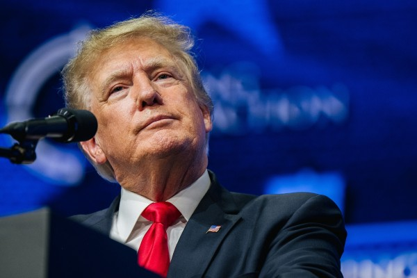 """Lawyers for Canada's government previously called Donald Trump's comments about Meng Wanzhou """"moot"""" because he is no longer in office. Photo: Getty Images via TNS"""