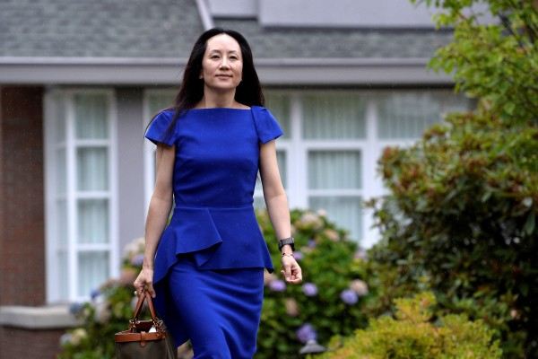 Huawei Technologies chief financial officer Meng Wanzhou leaves her home to attend a court hearing in Vancouver, British Columbia, Canada, on August 16, 2021. Photo: Reuters