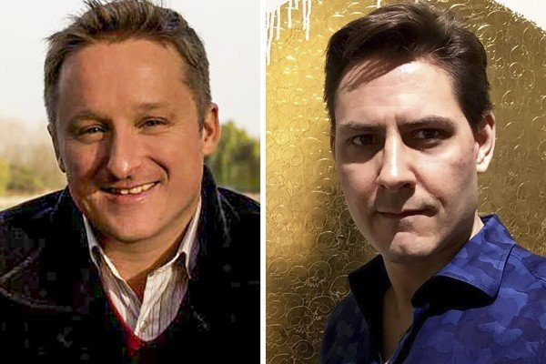 Michael Spavor (left) is accused of espionage by China. A report in state media said he had sent images of Chinese military equipment to fellow Canadian Michael Kovrig. Photos: Facebook