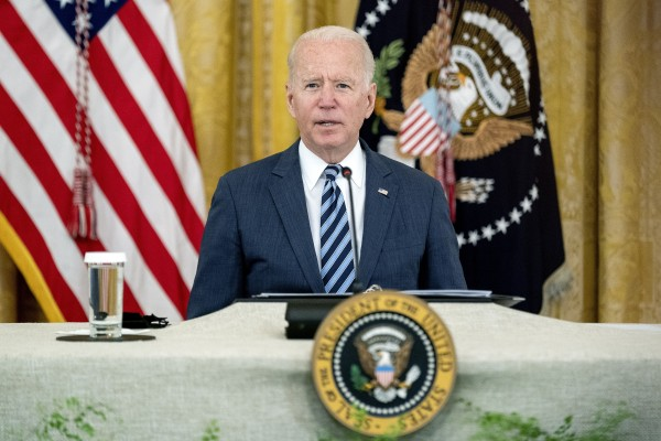 US President Joe Biden has continued the push his predecessor Donald Trump began to increase national security reviews of Chinese acquisitions of American businesses. Photo: EPA-EFE
