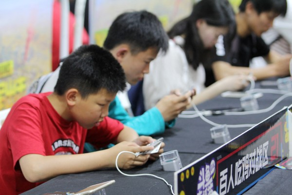China's online gamers under the age of 18 are being limited to just three hours of playtime per week. Photo: AFP