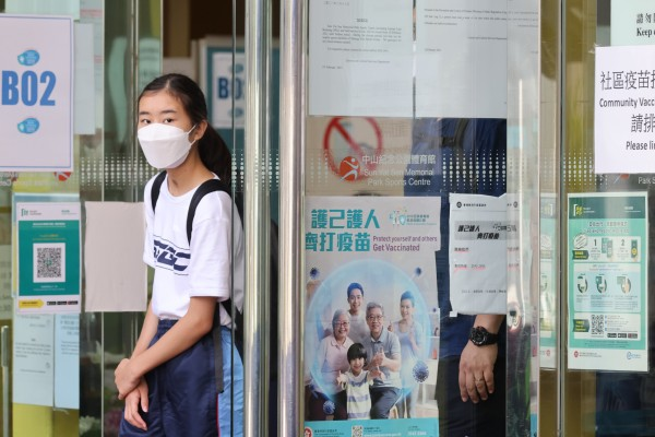 Experts have recommended that Hong Kong's adolescents receive only one dose of the BioNTech vaccine. Photo: May Tse