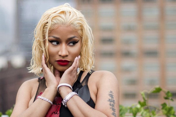 Nicki Minaj. File photo: AP